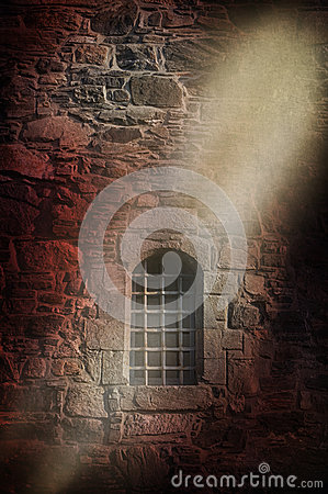 Free Medieval Prison Wall Stock Photos - 44591683