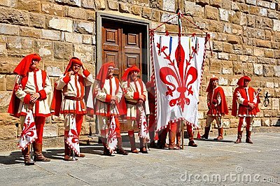 Medieval reenactment in Italy Editorial Stock Photo
