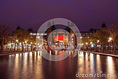 Medieval Rijksmusseum in Amsterdam the Netherlands
