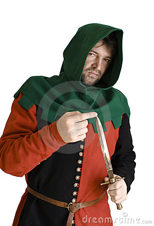 Medieval robber