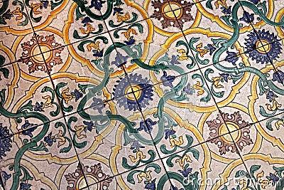 Medieval Rome tiles