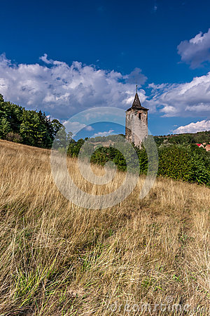 Medieval ruins Stock Photo