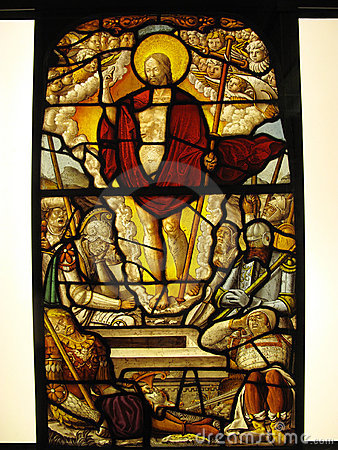 Medieval Stained Glass The Resurrection