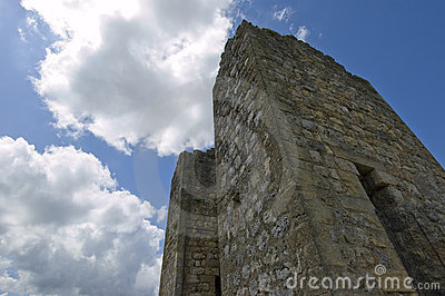 Medieval stone tower