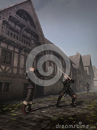 Medieval Street Fighters