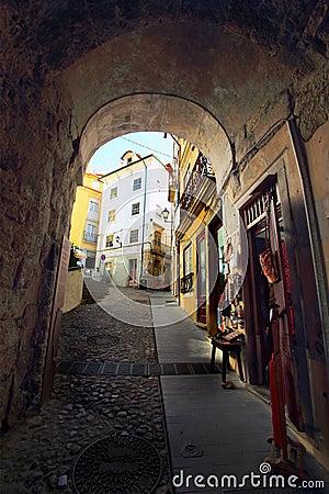 Medieval street, Portugal