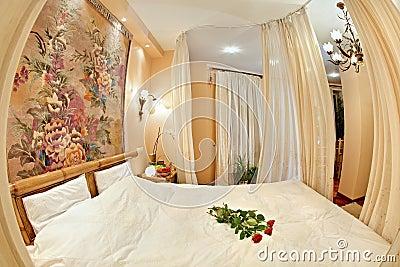 Medieval style bedroom