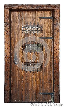 Medieval style door