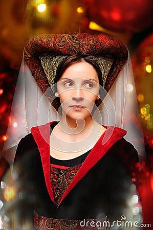 Medieval style portrait