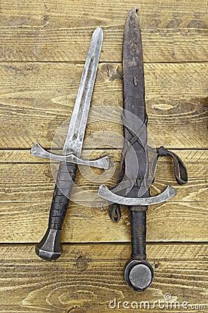 Medieval swords