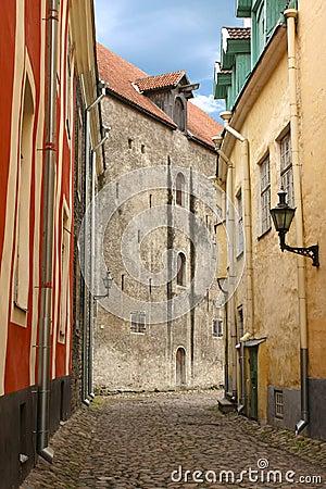 Free Medieval Tallinn Street Royalty Free Stock Photo - 16492035