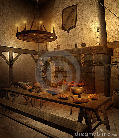 Medieval tavern 1