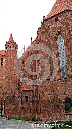 Medieval Teutonic castle in Kwidzyn