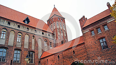 Medieval Teutonic castle in Kwidzyn
