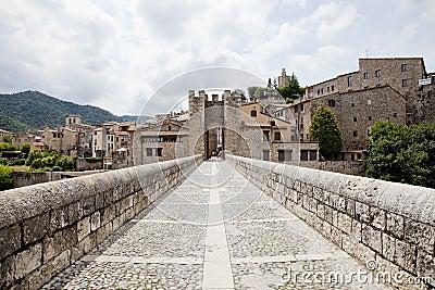 Medieval town of Besalu
