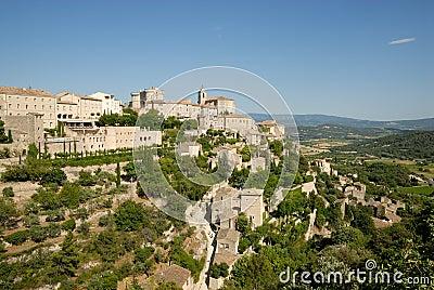 Medieval town Gordes, France