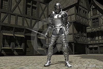 Medieval Town Knight 01