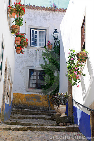 Free Medieval Town Of Obidos, Portugal Stock Photo - 20575800