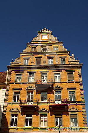 Medieval traditional building  in Konstanz