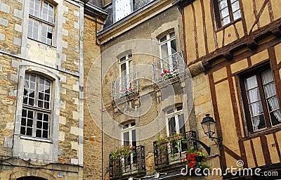 Medieval Vannes, France