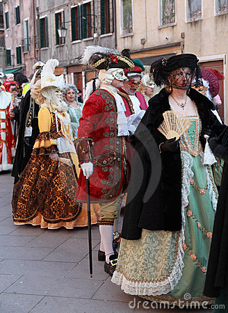 Medieval Venetian parade Editorial Stock Image