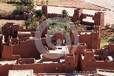 Medieval village in Morocco