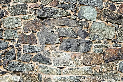 Medieval wall brick texture or background