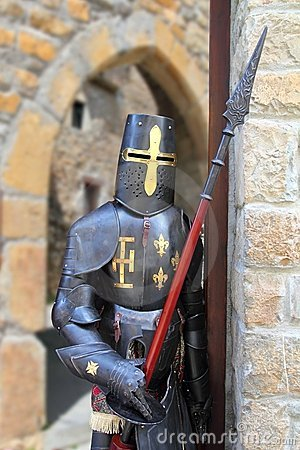 Medieval warrior soldier metal protective wear