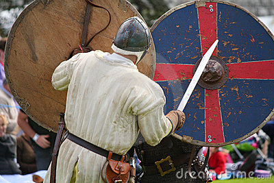 Medieval Warriors Editorial Stock Image