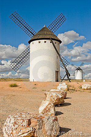 Free Medieval Windmill Stock Photography - 20045302