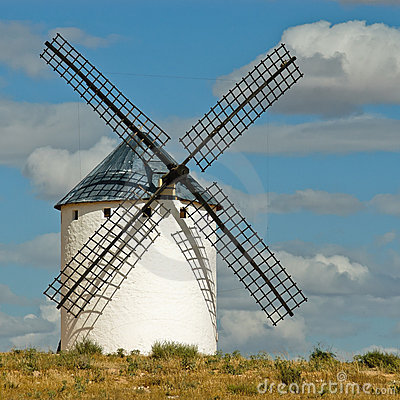 Free Medieval Windmill Royalty Free Stock Photo - 20045315