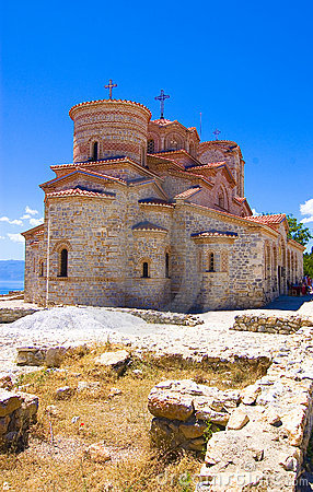 Free Medievel Church Plaosnik In Ohrid Royalty Free Stock Photography - 3809137