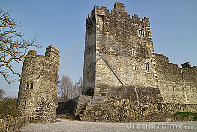 Medievial Ross castle