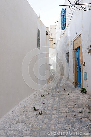Medina of Sousse with white architectures