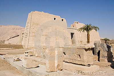 Medinet Habu Temple