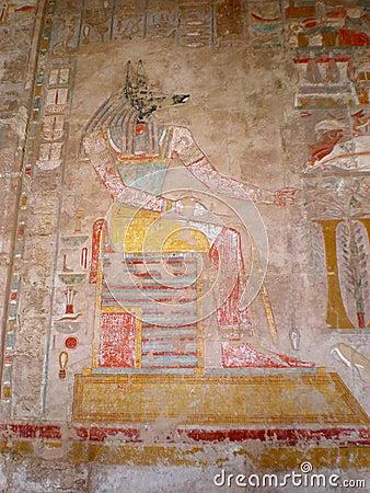 Medinet Habu Temple Thebes Egypt