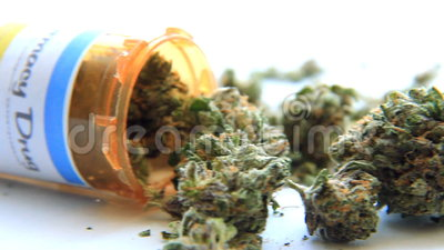 Medische Marihuana 7 stock footage