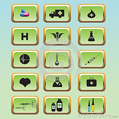 Medische pictogramreeks