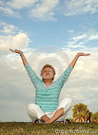 Meditação/elogio sênior