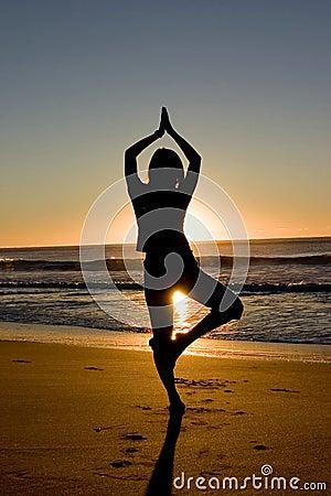 Free Meditating At Sunrise Royalty Free Stock Photo - 175145