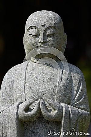 Meditating Buddha Bust