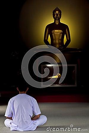 Meditation Editorial Photo