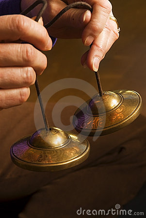 Free Meditation Bells Stock Photography - 4544032