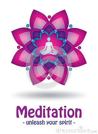 Meditation logo design