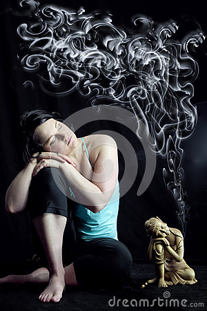 Free Meditation Mind Cleanse Stock Photo - 30379390
