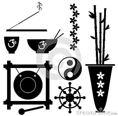 Meditation-Symbole