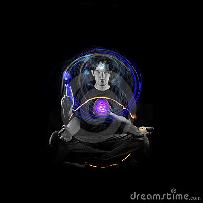 Free Meditator Stock Images - 13772654