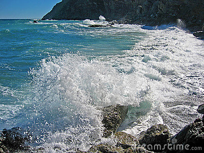 Mediterannean sea wave
