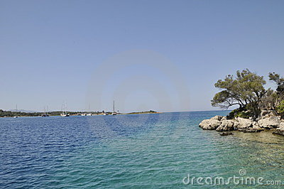 Mediterrane kustlijn