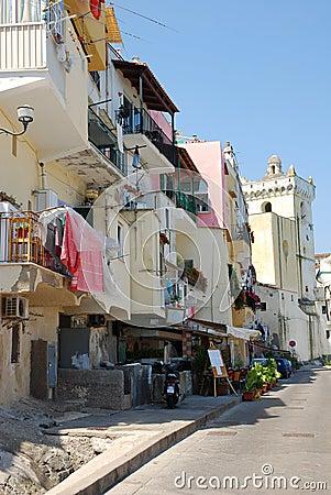 Mediterranean architecture, Ischia island, Italy